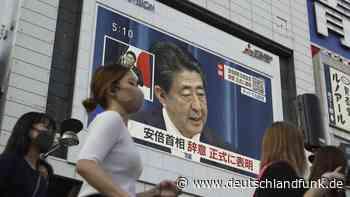 """Japan - Premierminister Shinzo Abe hinterlässt einen """"starken Staat"""" - Deutschlandfunk"""