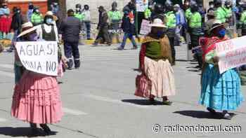 No quieren Vilavilani. Aymaras de El Collao y Tarata protestarán desde el 23 de setiembre - Radio Onda Azul