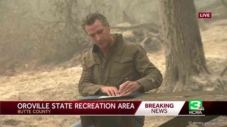 Newsom signs bill making it easier for former inmates to become professional firefighters