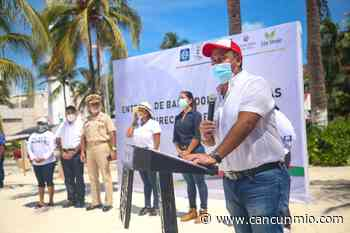 Entregan maquinaria especializada en limpieza de sargazo en Isla Mujeres - Cancún Mio