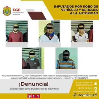 Proceden contra 13 expolicías de Paso del Macho y personas de un grupo delictivo - NORESTE
