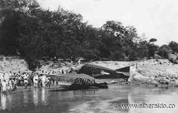 Un siglo del primer aterrizaje del hidroavión 'Colombia' a Puerto Berrío - EL HERALDO