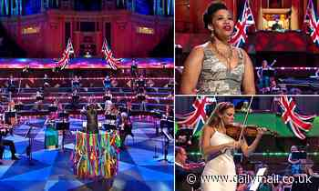 The woke warriors took a back seat at the Last Night of the Proms, writes CHRIS HASTINGS
