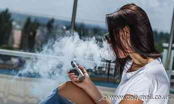 Vaping DOES raise the risk of breast cancer, warn scientists
