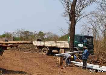 Gobernación trabaja en San Ignacio de Velasco, El Trigal y El Torno con pozos, sistemas de agua y cisternas para paliar los problemas de sequía - eju.tv