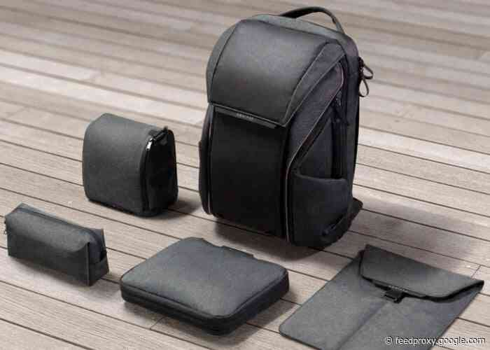 DAWN urban backpack packed with features, light strip and more from $129