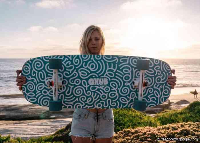 Chub skateboard – barefoot cruiser-longboard hybrid from $70