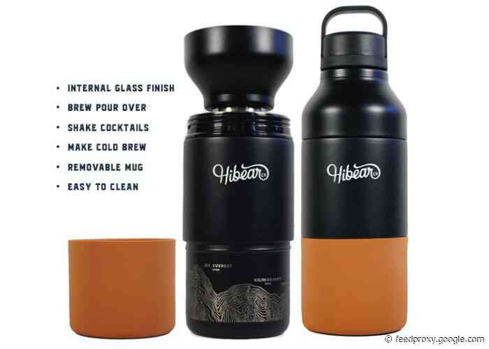 """The """"Swiss Army Knife"""" of insulated bottles hits Kickstarter from $65"""