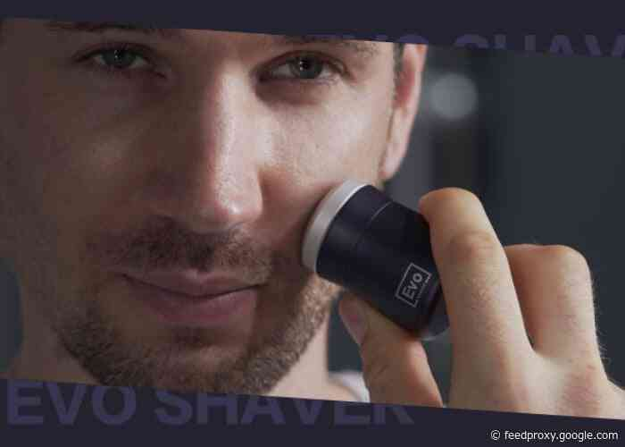 EVO SHAVER the worlds smallest travel electric shaver