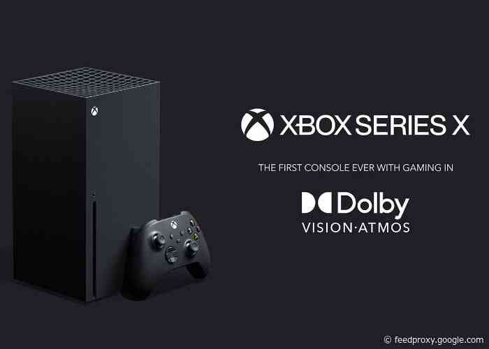 Xbox Series X and Series S will support Dolby Atmos games at launch