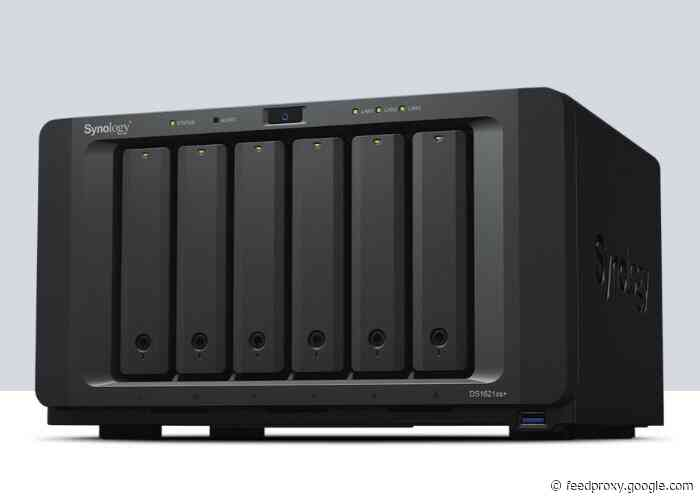 Synology 10GbE DiskStation DS1621xs+ NAS