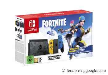 Nintendo Fortnite edition Switch