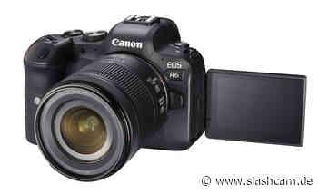 Firmware-Update: Canon EOS R6 filmt jetzt auch länger - slashCAM