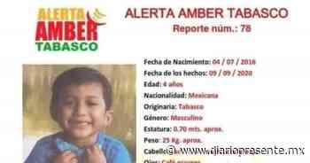 Desaparece menor de 4 años en Tenosique; activan alerta Amber para localizarlo - Diario Presente