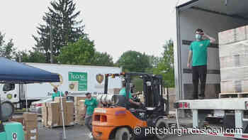 Lawrence Co. Church Holds Drive-Thru Food Distribution, Gives Away Thousands Of Pounds Of Food