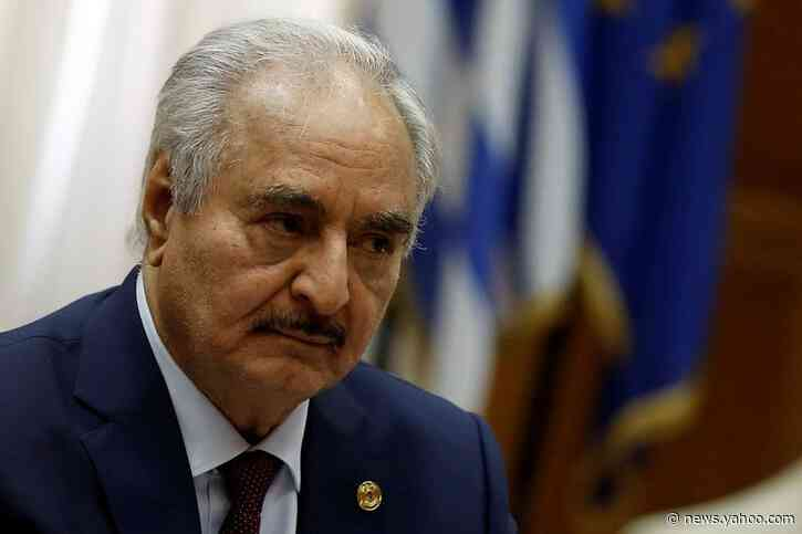 Libya's Haftar committed to ending oil blockade, U.S. says