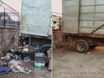 Saber jugar baloncesto, ''requisito'' en Muna para tirar basura a un camión - El Diario de Yucatán