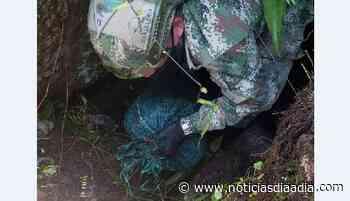 Decomisan explosivos en zona rural de Guayabetal, Cundinamarca - Noticias Día a Día