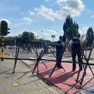 Politie massaal aanwezig in centrum van Mechelen voor verboden protestmars