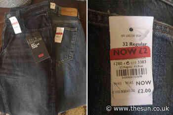 Savvy shopper nabs designer Levis and Wrangler jeans for just £2 in Debenhams sale - The Sun