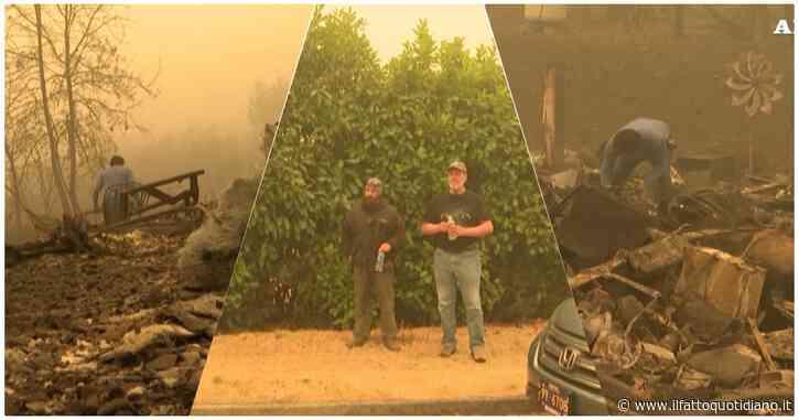Incendi in Usa, fumo denso e rosso e aria irrespirabile: il paesaggio in Oregon è spettrale. I residenti armati difendono le case dai saccheggi
