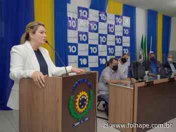 Em Abreu e Lima, Republicanos e PSDB confirmam apoio à Cristiane Moneta (PSB) - Folha de Pernambuco