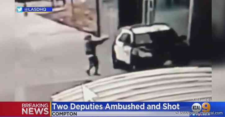 Sheriff Villanueva Calls Ambush Shooting Of 2 Deputies 'Cowardly'; Gunman At Large