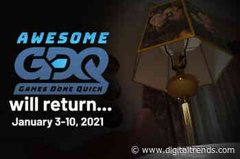 Awesome Games Done Quick 2021 will push through in January, but goes online-only