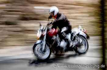 Owen: Motorradfahrer bei Kollision mit Auto verletzt - esslinger-zeitung.de