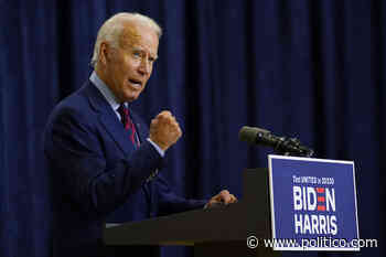 Polls show Biden with the advantage in 4 battleground states