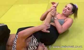 Love Island's Georgia Harrison pulls off complex judo move in throwback video