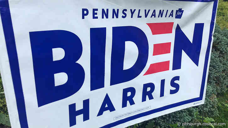Police Investigate Cases Of Biden-Harris Campaign Signs Being Vandalized, Supporters' Houses Egged
