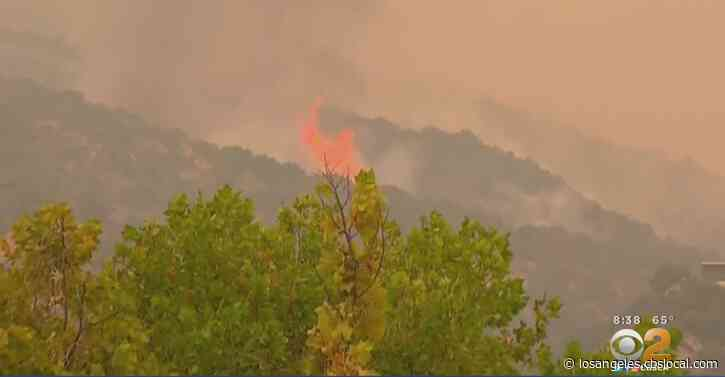 Evacuation Orders Issued For Arcadia As Bobcat Fire Continues To Burn