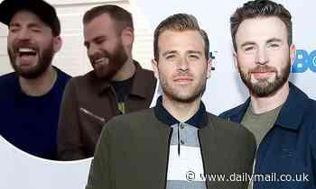 Chris Evans' big brother Scott teases him after unusual photo leak