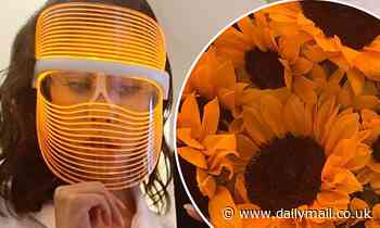 Kourtney Kardashian indulges in 'self-care Sunday' with otherworldly face shield and a roaring fire