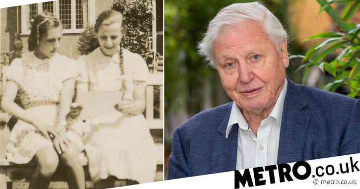 Sir David Attenborough reunites families of his Jewish refugee 'sisters' who stayed with his family during Second World War