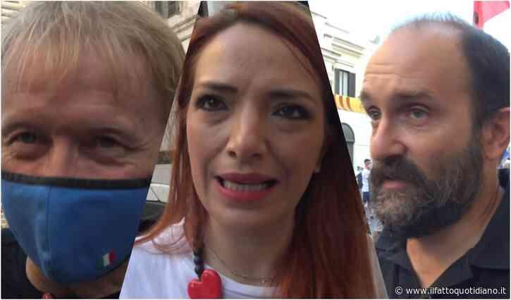 Referendum, dalle Sardine a Orfini al berlusconiano Malan: il No si ritrova in piazza (con poca gente)