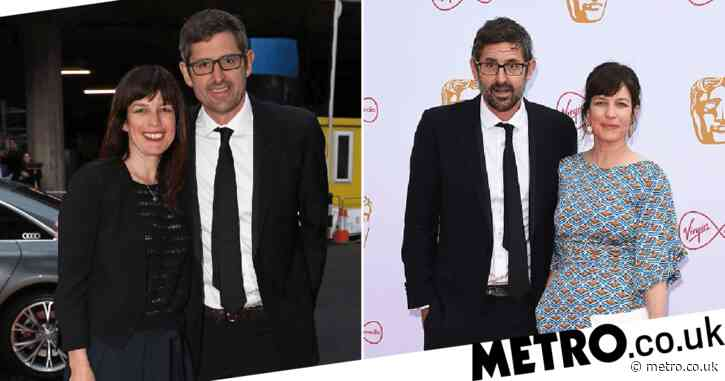 Who is Louis Theroux's partner Nancy and when did they get married?