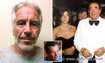 Jeffrey Epstein 'was secretly bankrolled' by newspaper baron Robert Maxwell - Ghislaine's father