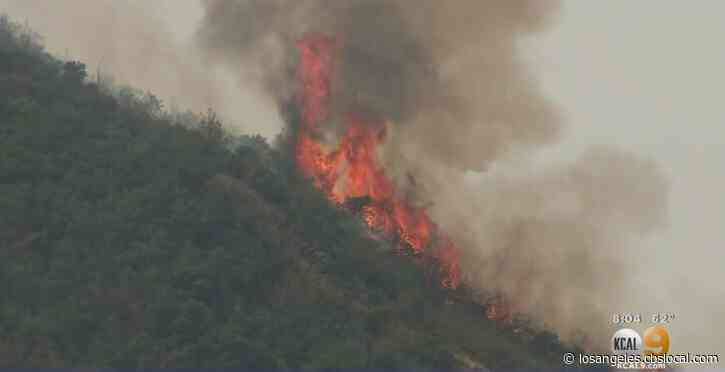 Firefighters Continue To Gain Ground On 14,283-Acre El Dorado Fire