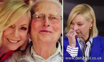 Liz Hayes breaks down in tears revealing her father died after an extraordinary hospital blunder