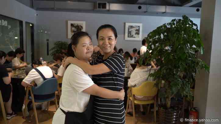 The Shanghai cafe helping China's underprivileged and disabled stand on their own two feet