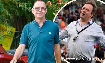 EastEnders' Adam Woodyatt shows off his slimmed-down frame following weight loss