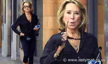 Felicity Kendal, 73, looks youthful in gym gear while at a yoga shop