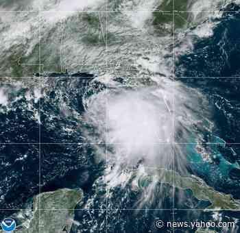 Sally roars through Gulf, forecast to strengthen to hurricane before striking coast
