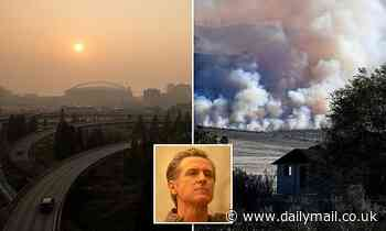 West Coast wildfires create air quality as dangerous as smoking 20 packs of cigarettes'