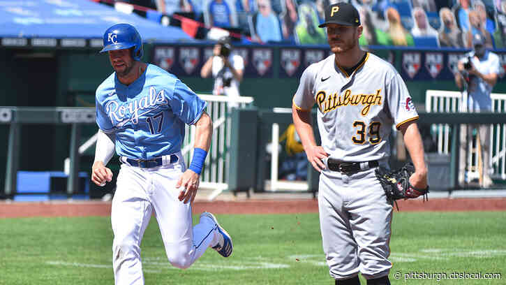 Pirates Shut Out By Royals 11-0 In Series Finale