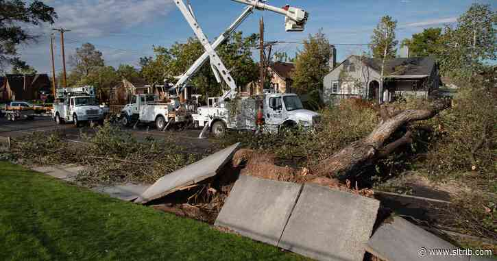 Power still out for about 9,000 Utah customers six days after storm