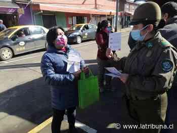 Santa Barbara: Carabineros desarrolla campaña de prevención de cara de celebraciones patrias - Diario La Tribuna