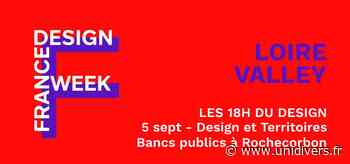 FDW Loire Valley – Design et Territoires, Bancs publics à Rochecorbon Bourse du commerce (ancienne CCI) samedi 5 septembre 2020 - Unidivers